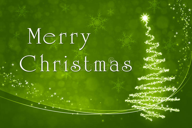 зеленый цвет рождества иллюстрация вектора