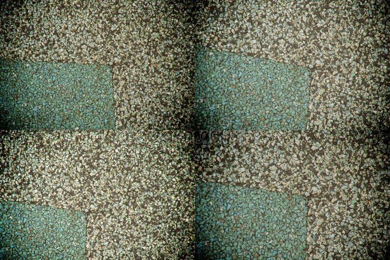 Зеленый цвет - серые малые камешки текстура или предпосылка для вебсайта или мобильных устройств стоковые изображения rf
