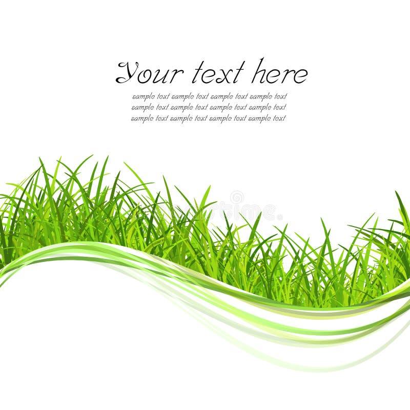 зеленый цвет травы иллюстрирует иллюстрация штока