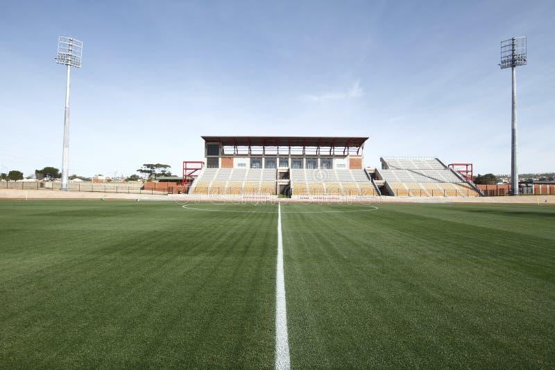 зеленый цвет травы резвится стадион стоковое фото rf