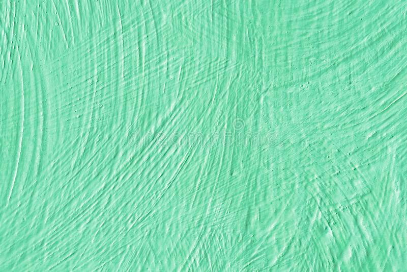Зеленый цвет цвета предпосылки Стена покрашенная в зеленой текстуре стоковые изображения rf