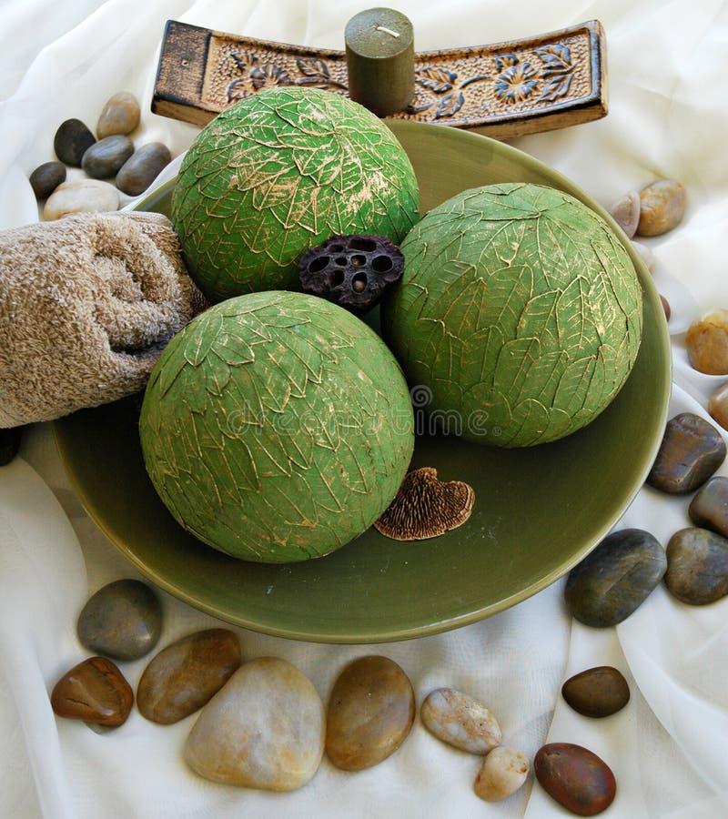 зеленый цвет шара стоковые изображения rf