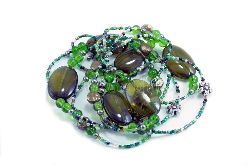зеленый цвет шариков стоковая фотография