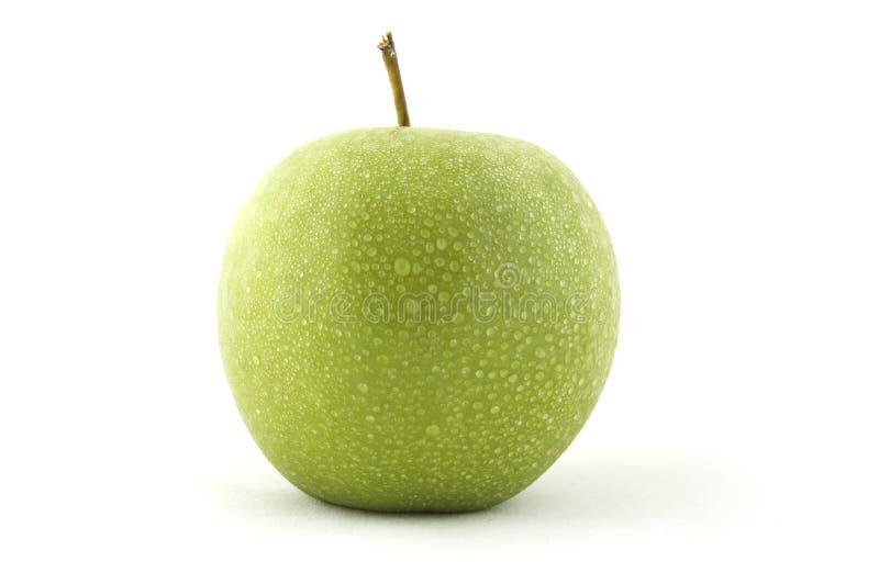 зеленый цвет яблока свежий стоковое изображение
