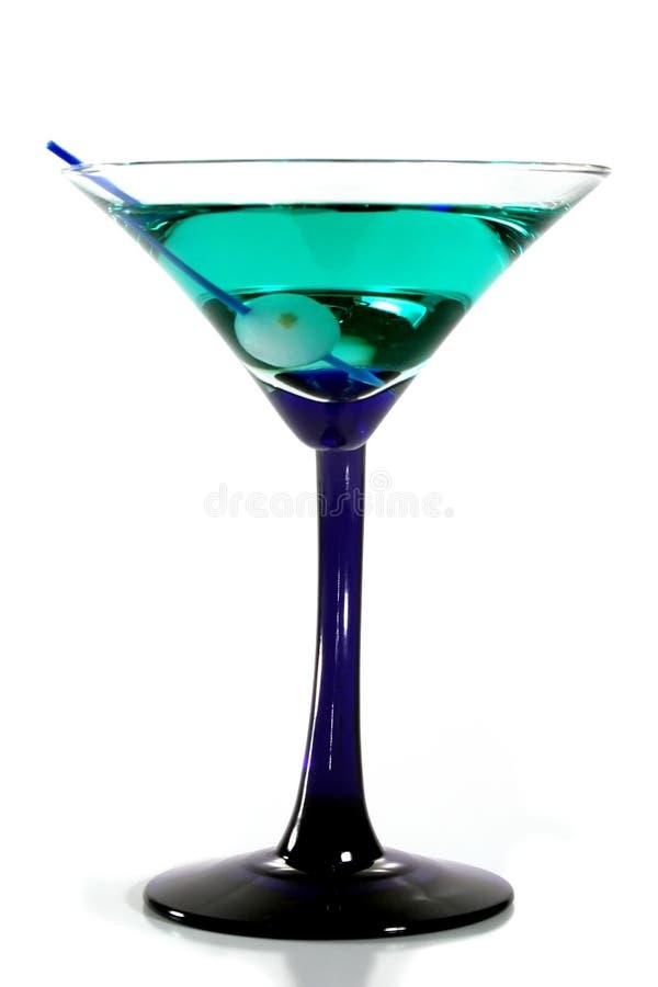 зеленый martini стоковая фотография rf