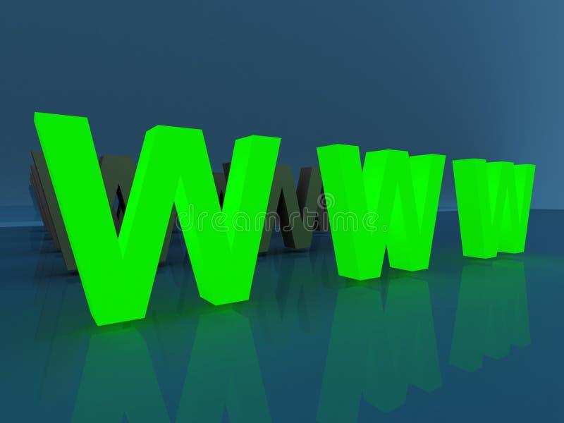 зеленый www бесплатная иллюстрация
