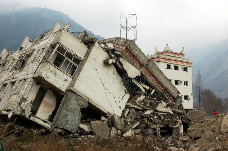 землетрясение стоковая фотография rf