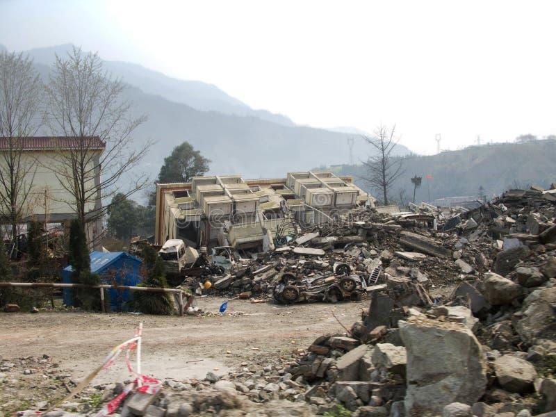 землетрясение стоковые изображения rf