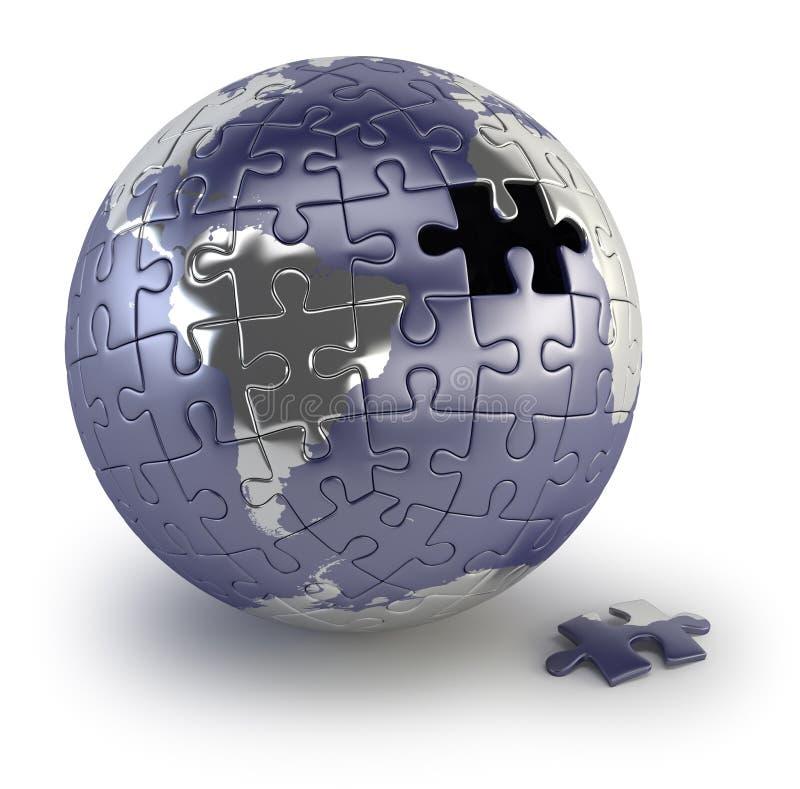 Земля головоломки бесплатная иллюстрация