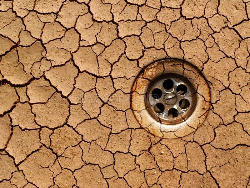 земля засухи сухая стоковая фотография rf