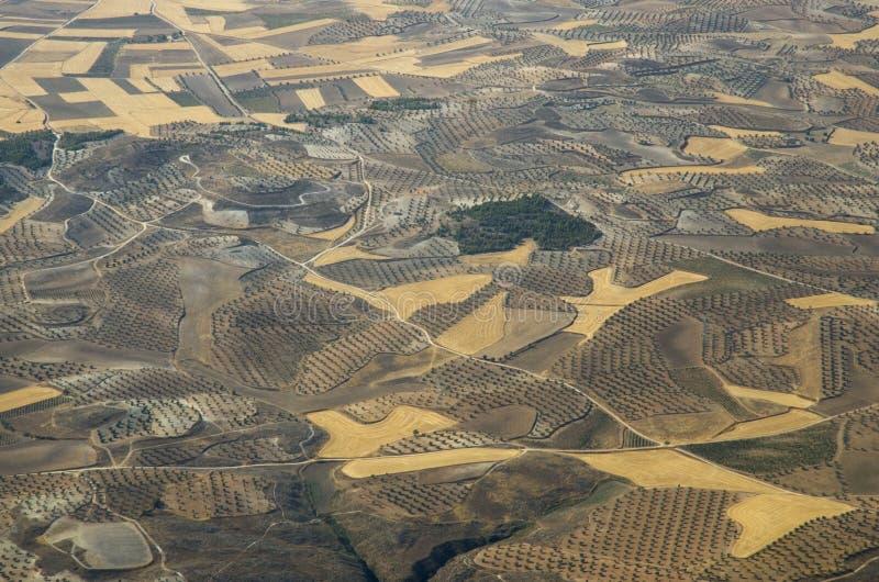Земля земледелия стоковые изображения