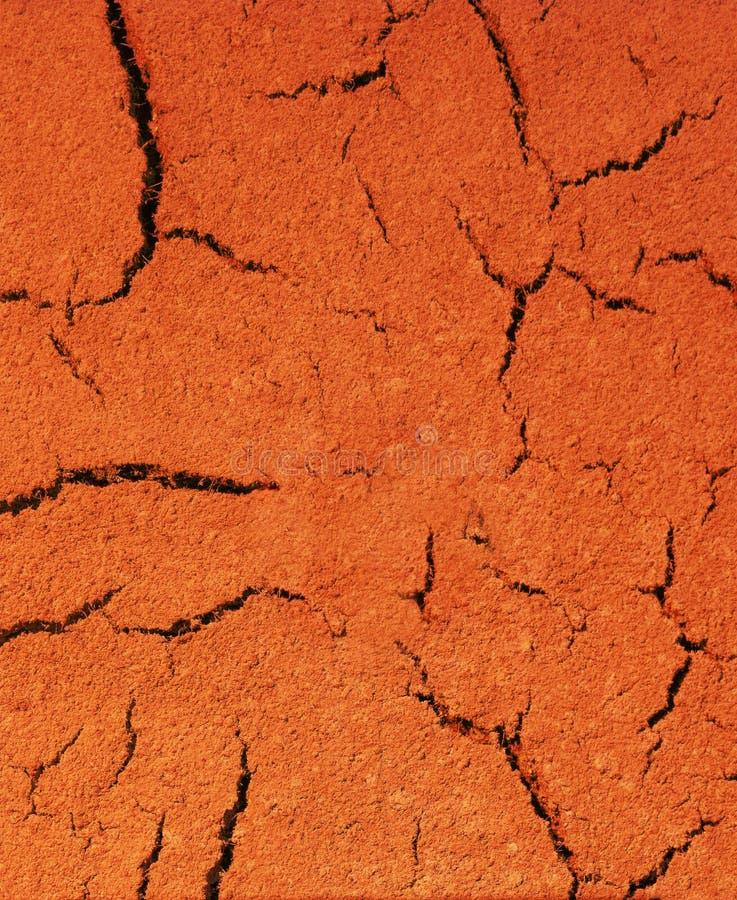 земля треснутая предпосылкой сухая стоковая фотография rf