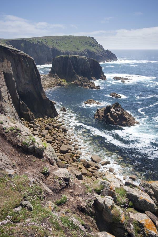 земля s конца скал стоковое изображение rf