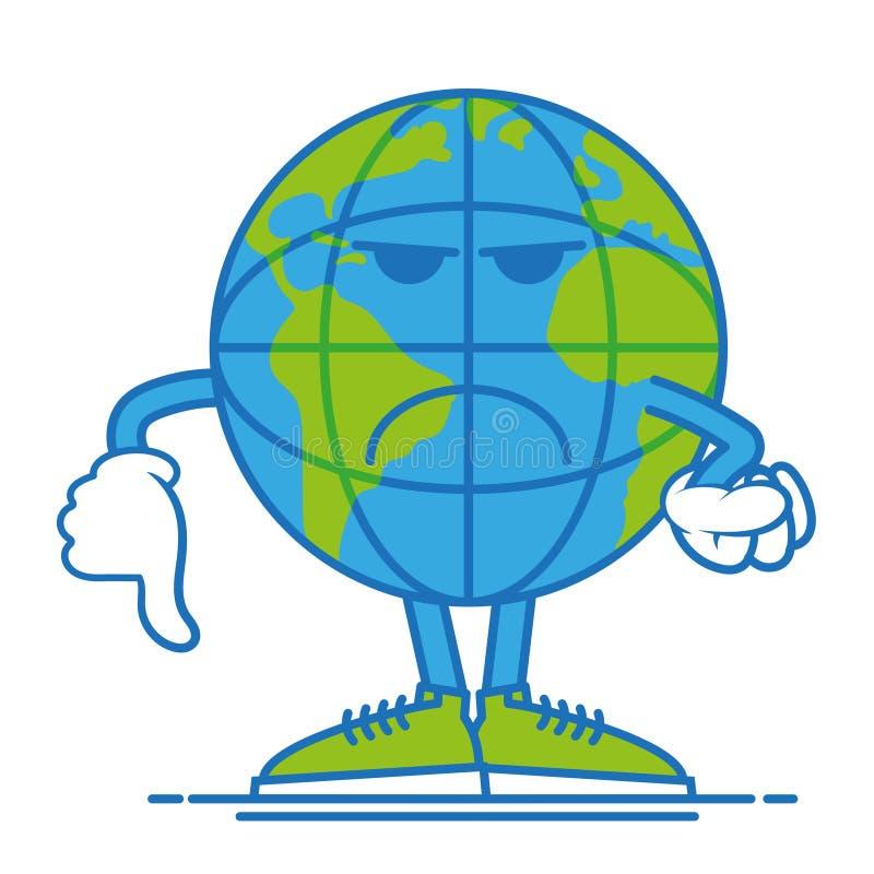 Земля ` t Дон счастливая иллюстрация штока