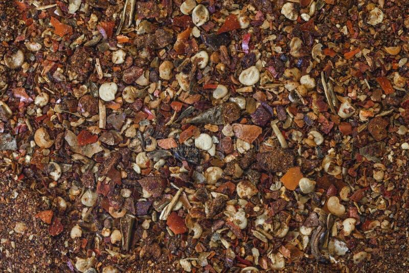 Земная паприка кучи перца стоковое фото