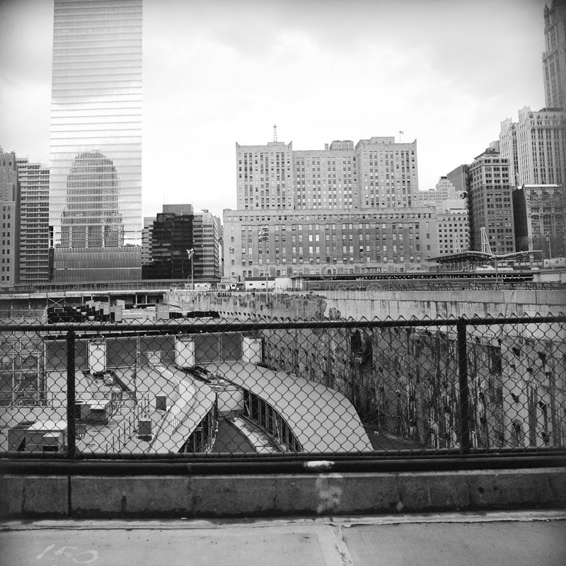 земное New York нул стоковое фото rf