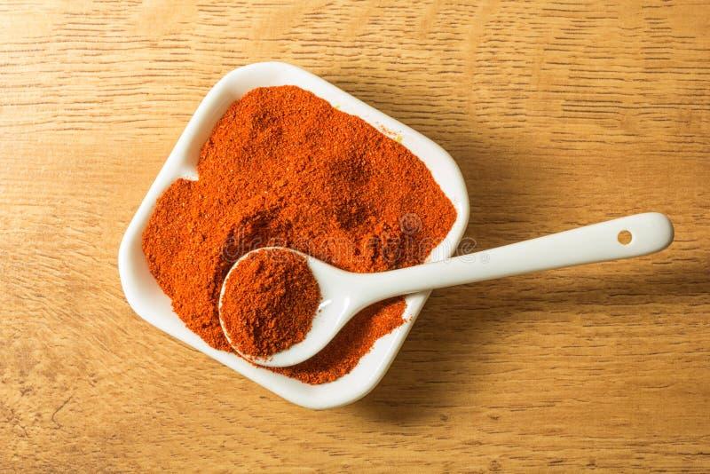 Земной перец chili стоковое изображение rf