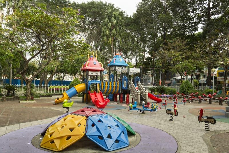 Земля игры детей стоковое изображение