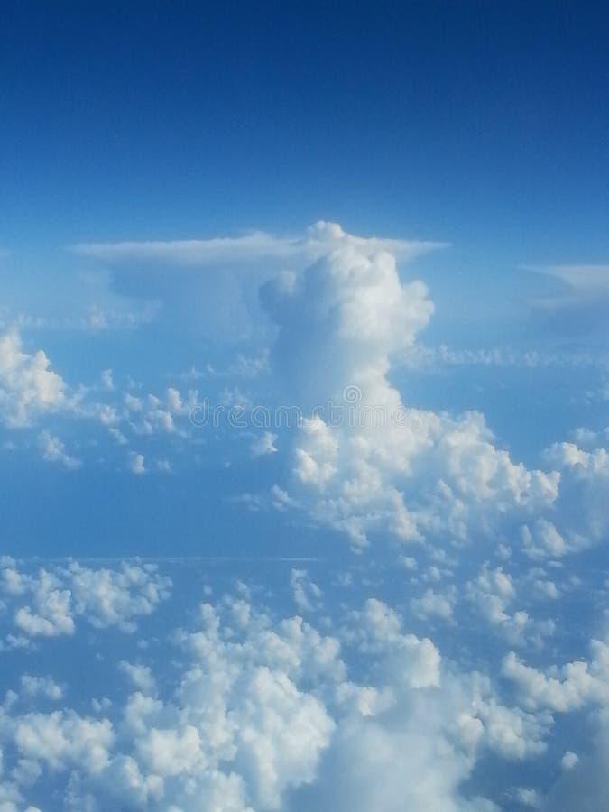 Земля от самолета стоковое изображение rf