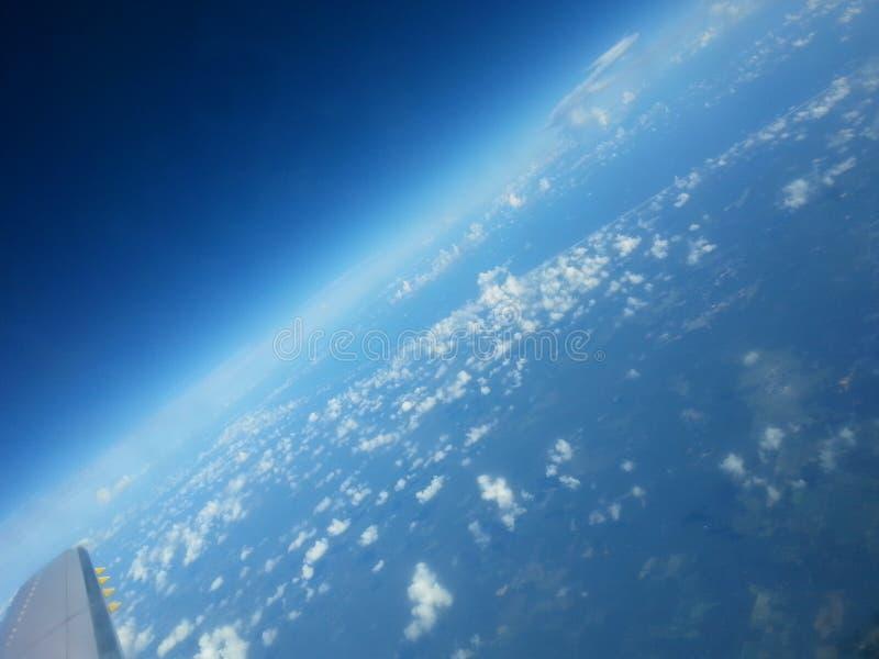 Земля от самолета стоковое фото rf
