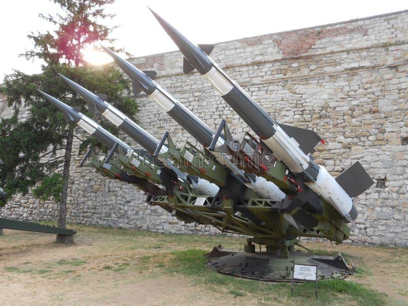 Зенитные противовоздушные ракеты, S125 Neva стоковые изображения rf