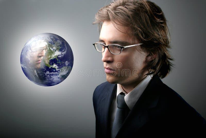 зеркало глобуса стоковое фото