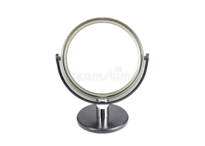 зеркало круглое стоковые фото