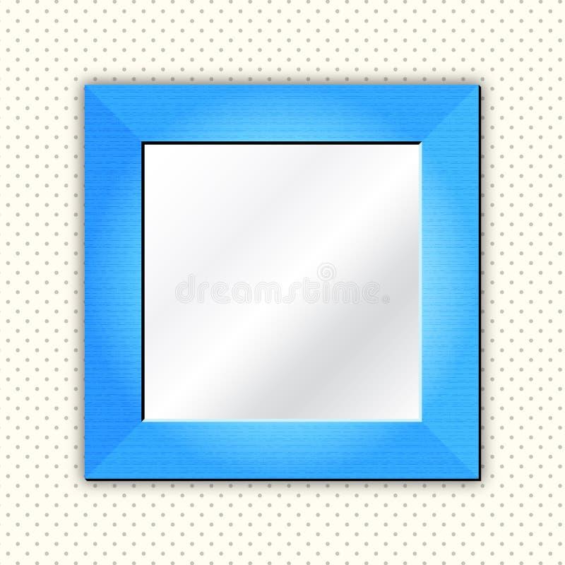 зеркало рамки иллюстрация штока