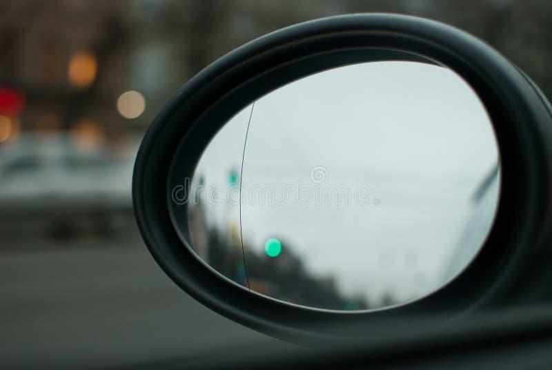 Зеркало автомобиля Rearview стоковое фото