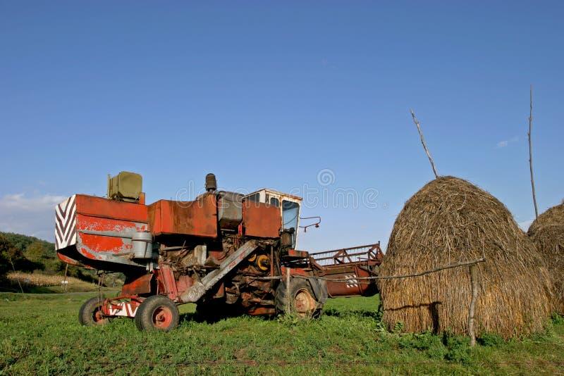 Зернокомбайн стоковая фотография