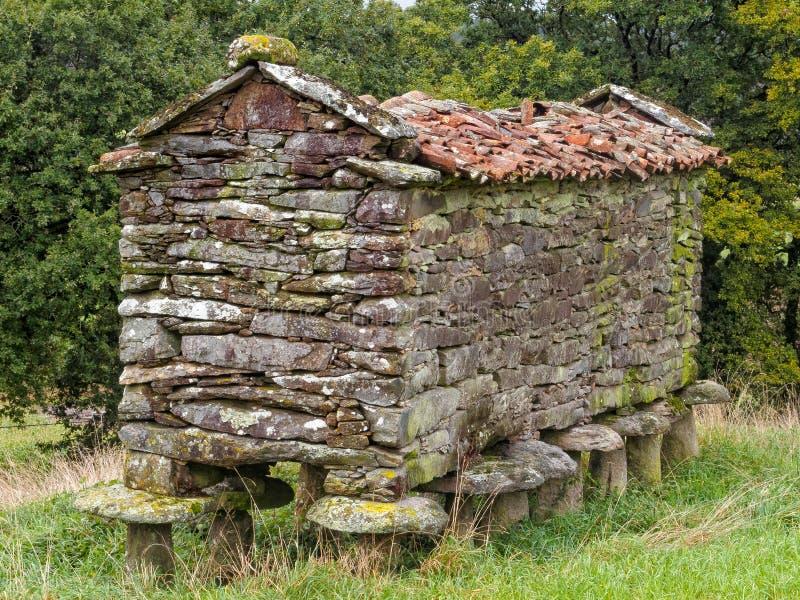 зернохранилище Сух-камня - Vilarserio стоковые изображения rf
