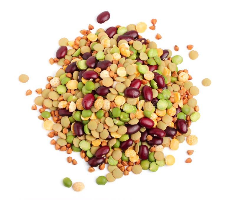 Зерно и фасоли стоковое изображение