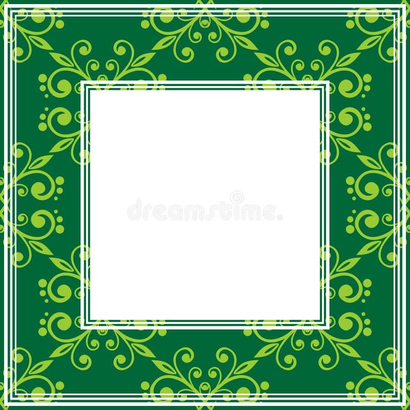 Зеленая граница бесплатная иллюстрация
