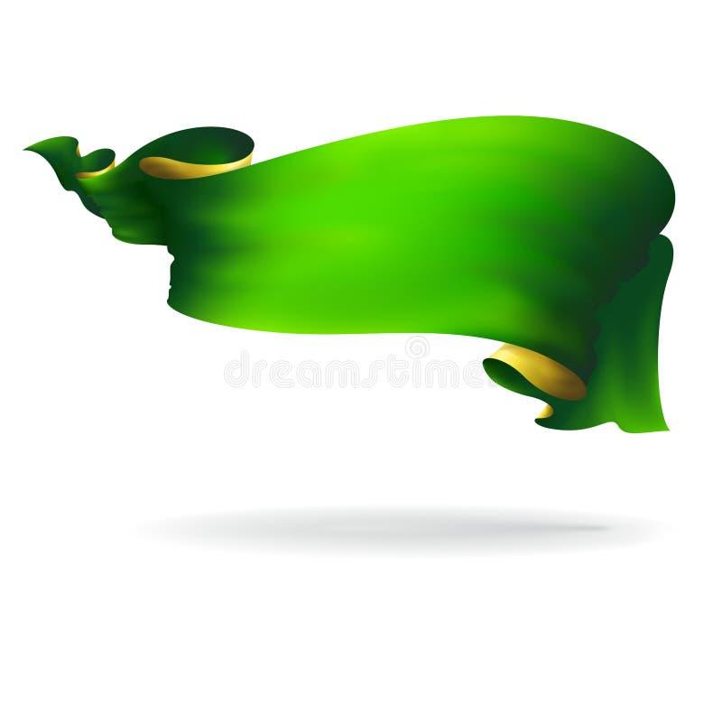 Зеленая лента бесплатная иллюстрация