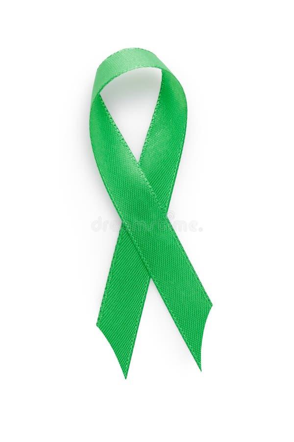 Зеленая лента awarness много смыслов стоковое фото rf