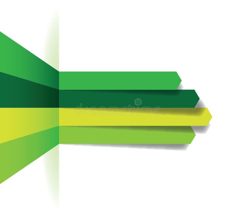 Зеленая линия предпосылка стрелки бесплатная иллюстрация