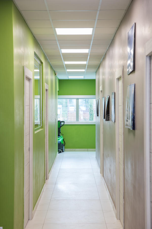 Зеленая палата стоковая фотография rf
