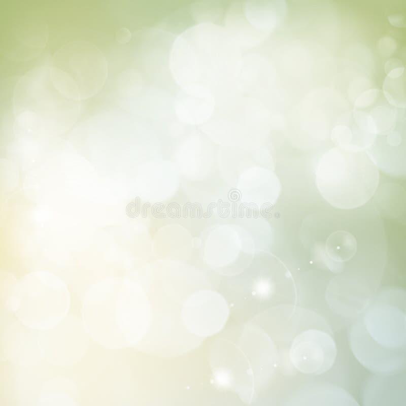 Зеленая праздничная предпосылка стоковое фото rf