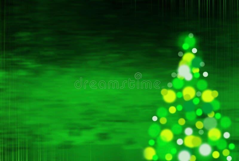 Зеленая предпосылка рождества с вертикальными нашивками стоковое изображение
