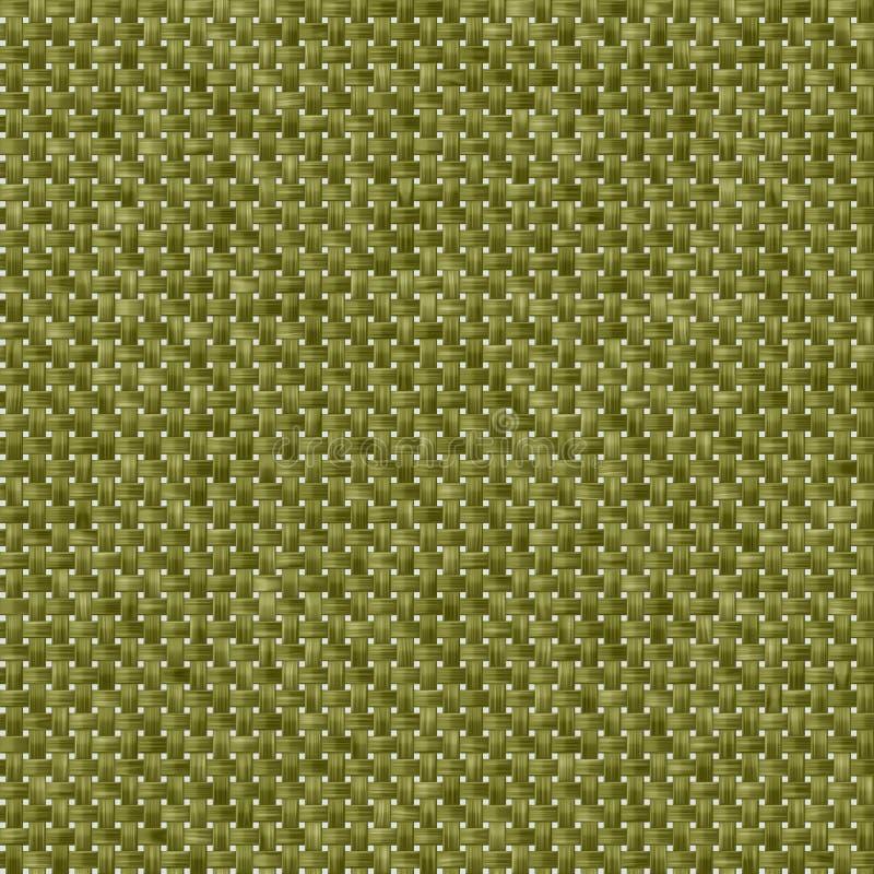 Зеленая предпосылка ткани, безшовная иллюстрация вектора