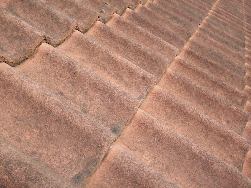 Зеленая плитка крыши стоковое фото