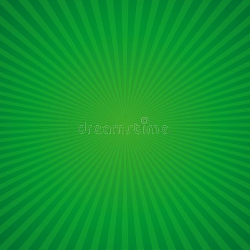 Зеленая ретро предпосылка на день St Patricks иллюстрация штока