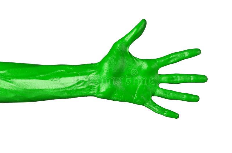 как стиль зеленая рука картинки отличие