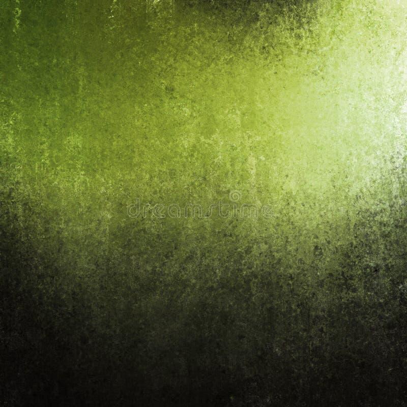 Зеленая черная текстура предпосылки иллюстрация штока