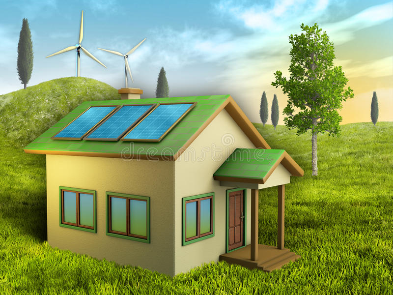 зеленое прожитие бесплатная иллюстрация