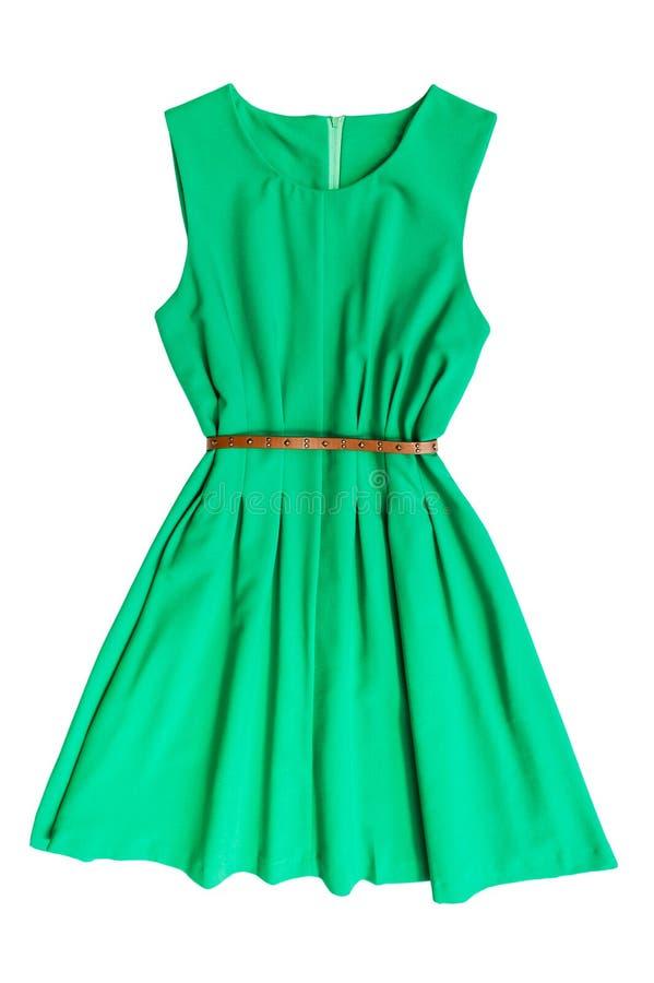 Зеленое платье стоковое изображение rf