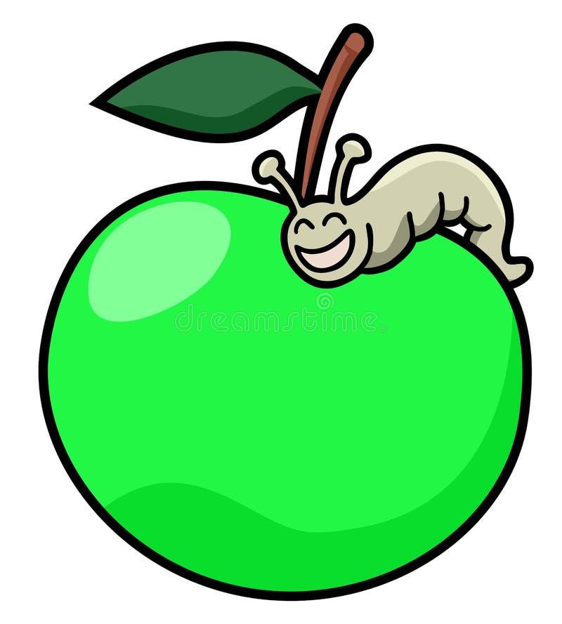 Зеленое яблоко бесплатная иллюстрация