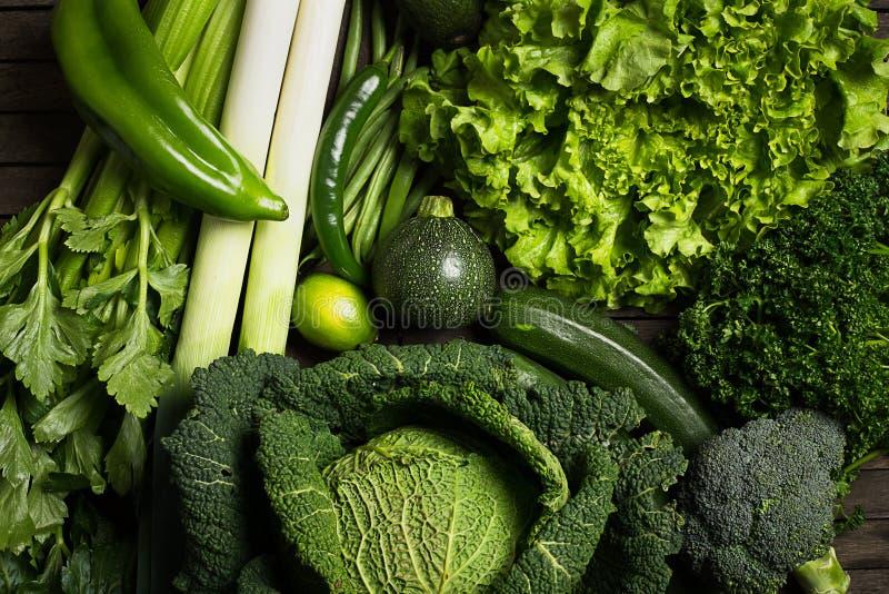 Зеленое vegetable смешивание стоковые фотографии rf