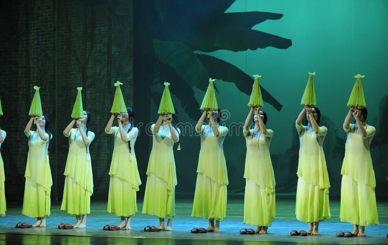 Зеленые леты- во-вторых поступка событий драмы-Shawan танца прошлого стоковая фотография rf