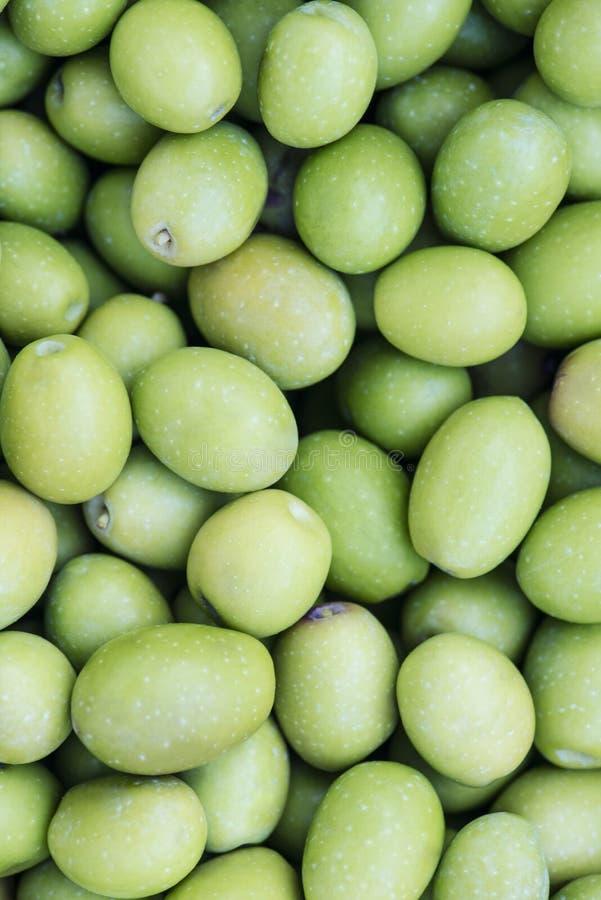 зеленые оливки стоковое фото